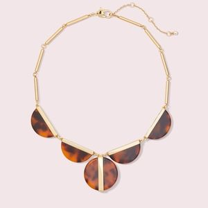Kate Spade On the Dot Statement Tortoise Necklace